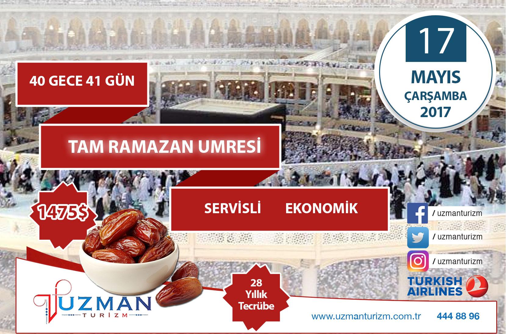 Şok Kampanya: 41 günlük Ramazan Umresi